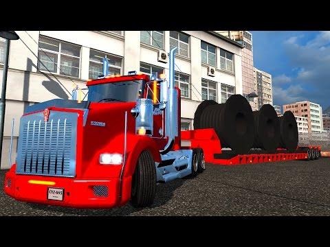 ETS2 Kenworth T800 en Colombia! Accidentes Bogotá a Pereira Euro Truck Simulator 2
