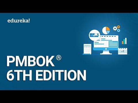 PMBOK 6th Edition | Project Management Certification | PMP Certification Training | Edureka