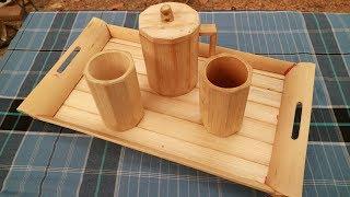 """How To Create  """"Nampan"""" Bamboo."""
