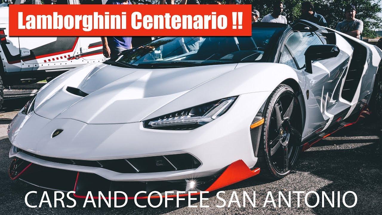 Elegant Lamborghini Centenario!! Cars And Coffee San Antonio August 2017