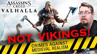 NOT REAL VIKINGS!!! Assassin's Creed Valhalla trailer review: CRIMES AGAINST MEDIEVAL REALISM