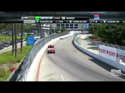 Indy Lights 2013: Round 3 Long Beach [Full]