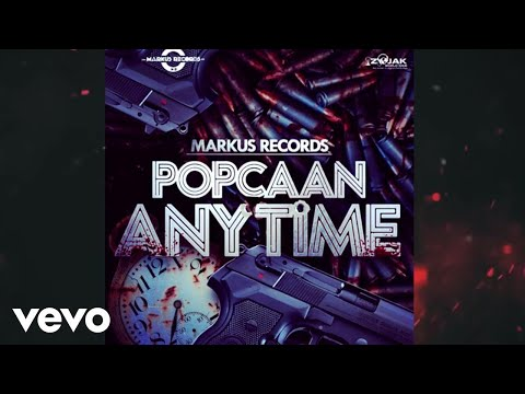 Popcaan - Anytime (Official Audio)