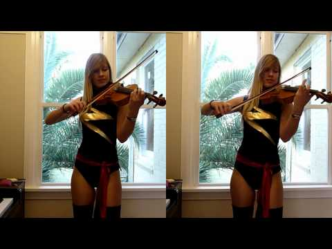 Lara plays The Avengers movie theme as Ms. Marvel :)