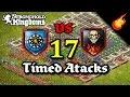 17 TIMED ATTACKS LautyDubstep vs DeBH - Pitch Castle Defense - Stronghold Kingdoms