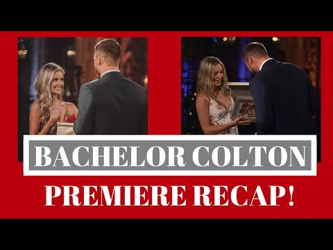 BEST Recap: Bachelor Colton, Episode 1