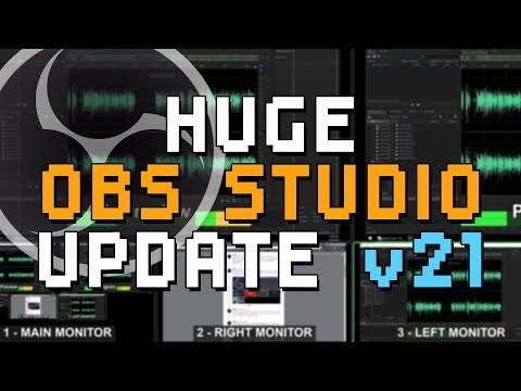 Multiview, Per-Scene Transitions, Audio Overhaul - OBS STUDIO'S BIGGEST UPDATE?! - OBS 21 Overview