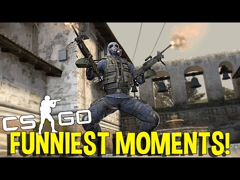 CS:GO FUNNIEST MOMENTS FUNTAGE (FUNNY MOMENTS)