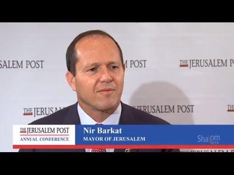 Nir Barkat, Mayor of Jerusalem, at The Jerusalem Post Conference