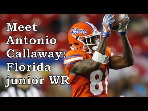 brand new d5687 0b676 Antonio Callaway, Florida WR: 2018 NFL Draft profile