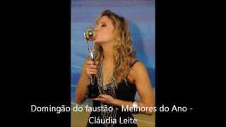 VOTE NO MELHORES DO ANO DO FAUSTÃO - CLAUDIA LEITTE MELHOR CANTORA 2012/2013