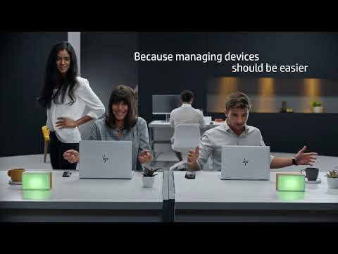 HP Device Management - Windows 10