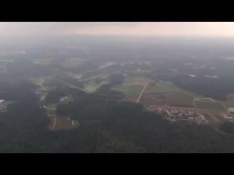 Landing at NARITA international airport