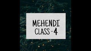 Mehndi Class - 04 ( How to fill mehndi design ) In HINDI