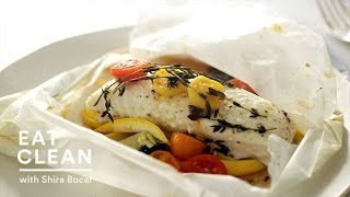Halibut, Squash And Tomatoes In Parchment - Everyday Food With Sarah Carey