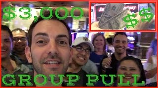 Best Group Pull Win Yet! ✦ $3,000 Group Pull ✦ HL Slot Machines at Caesars and Cosmo Las Vegas