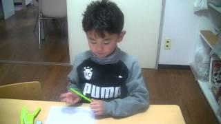 今年算数検定7級(5年)を合格した2年生の男の子が算数検定6級を目指し...