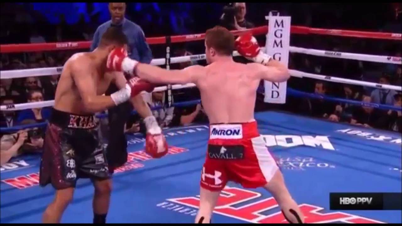 "Saul ""Canelo"" Alvarez vs Amir ""King"" Khan   Highlights"