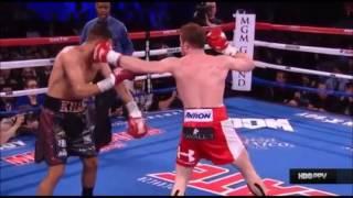 "Saul ""Canelo"" Alvarez vs Amir ""King"" Khan   Highlights"