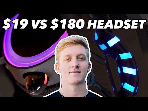 $19 Headset Vs. Tfue's $180 Headset: We Try Cheap Vs. Expensive Gaming Headsets In Fortnite
