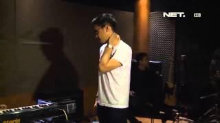entertainment news afgan syahreza latihan jelang konser di singapura