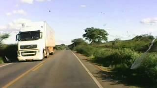 AMAROK cortando fila na BR 116 - Viagem PB x SP- Parte 08