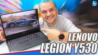 LEGION Y530 | LENOVO | NOTEBOOK GAMER COM VISUAL LINDO E SÓBRIO! UNBOXING E IMPRESSÕES