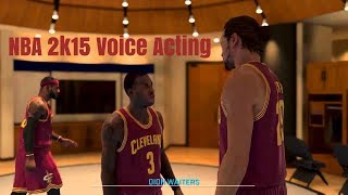 NBA 2k15 Horrible (and Hilarious) Voice Acting Compilation