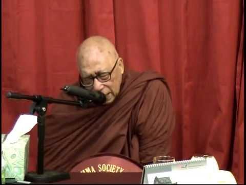 May 02,2012 Dhamma Class by Venerable Mahasi Ovadacariya Sayadaw Bhandanta Jatila at TDS
