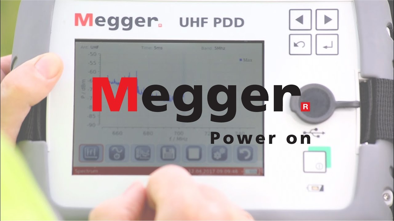 Electrical Test And Maintenance Equipment Videos From Megger Relay Uhf Pd Detector