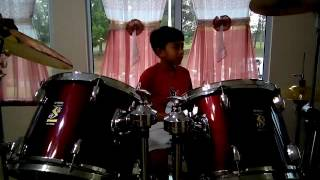 Hafiz drum cover : One Direction - save you  tonight