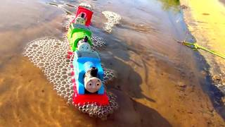 Thomas & Friends Crashes In Mud ⛅ Mister Toys