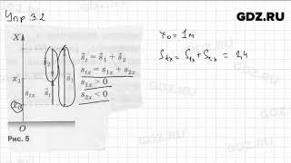 Упр 3.2 - Физика 9 класс Пёрышкин