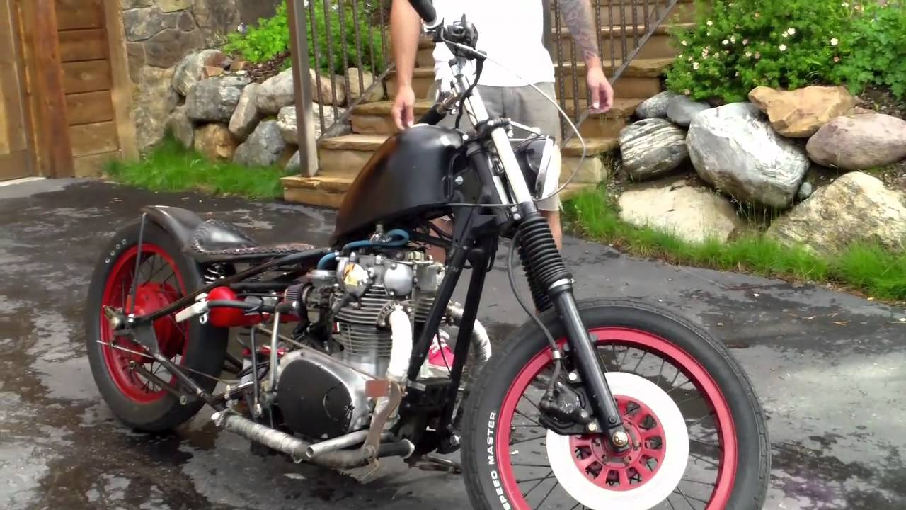 1977 Yamaha Xs650 Custom Bobber For Sale Breckenridge