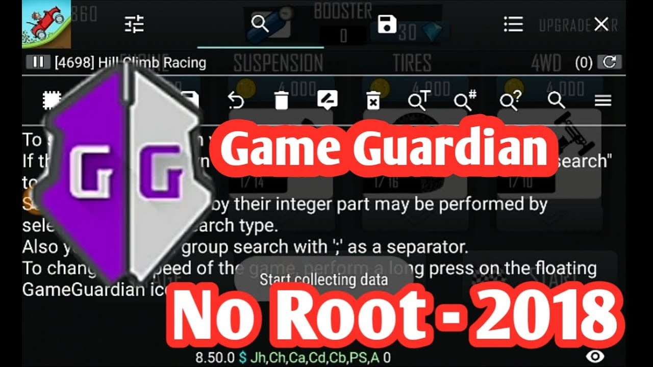 How To Use Game Guardian Without Root 2018 Youtube