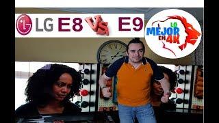 OLED LG E8 (2018)  Vs E9 (2019) - La comparativa más esperada - 4k HDR DOLBY VISIÓN