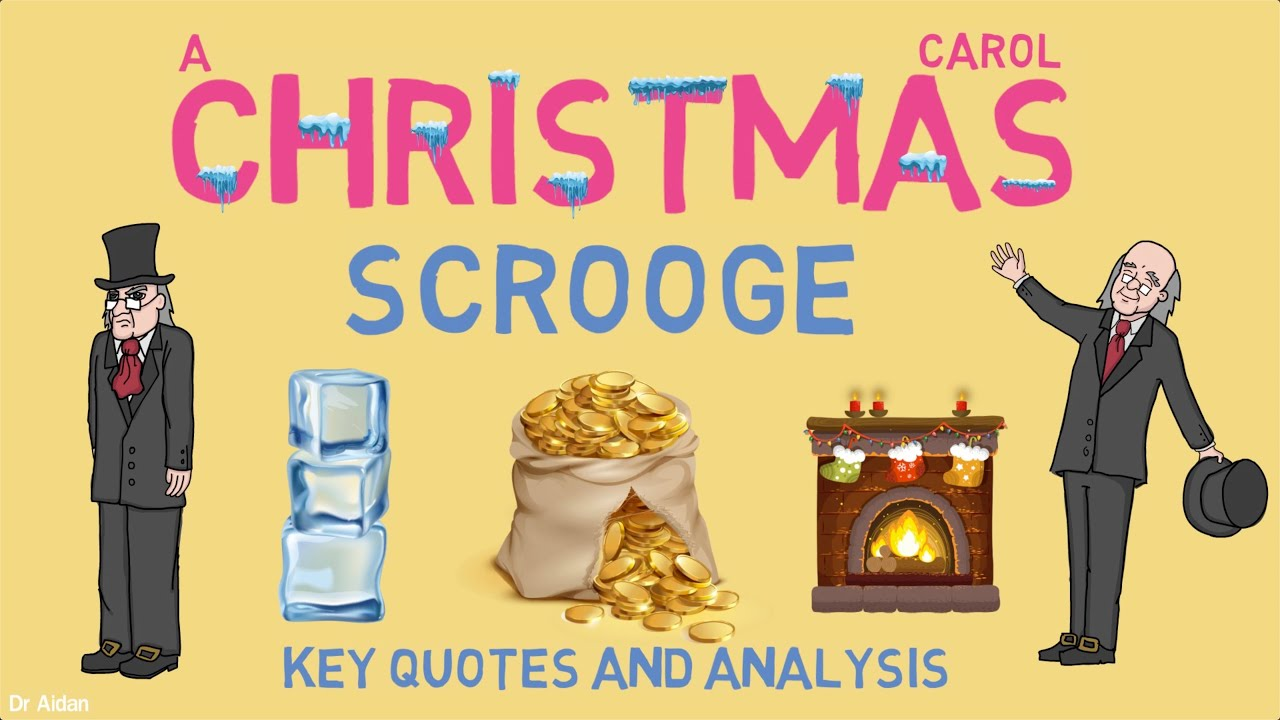 'Scrooge' in A Christmas Carol: Key Quotes & Analysis - YouTube