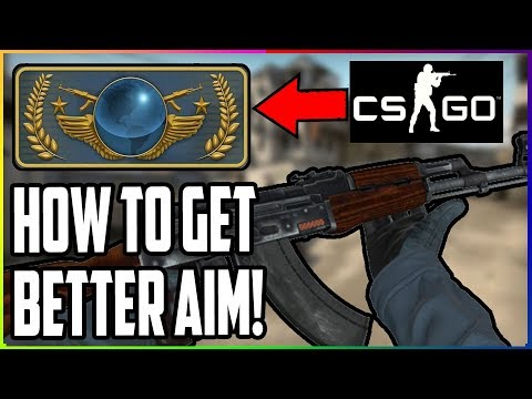 CSGO How To Get Better (Improve Aim - AK47 1 Taps/Spraying & Movement) Tutorial