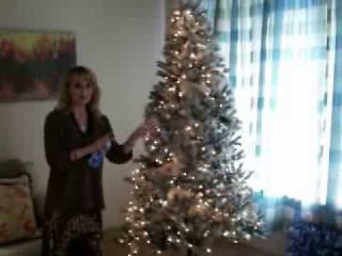 Diy flocking my christmas tree youtube solutioingenieria Image collections