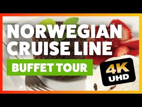 Norwegian Cruise Line | Buffet Food Tour