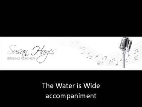 The Water is Wide - guide vocal then accompaniment