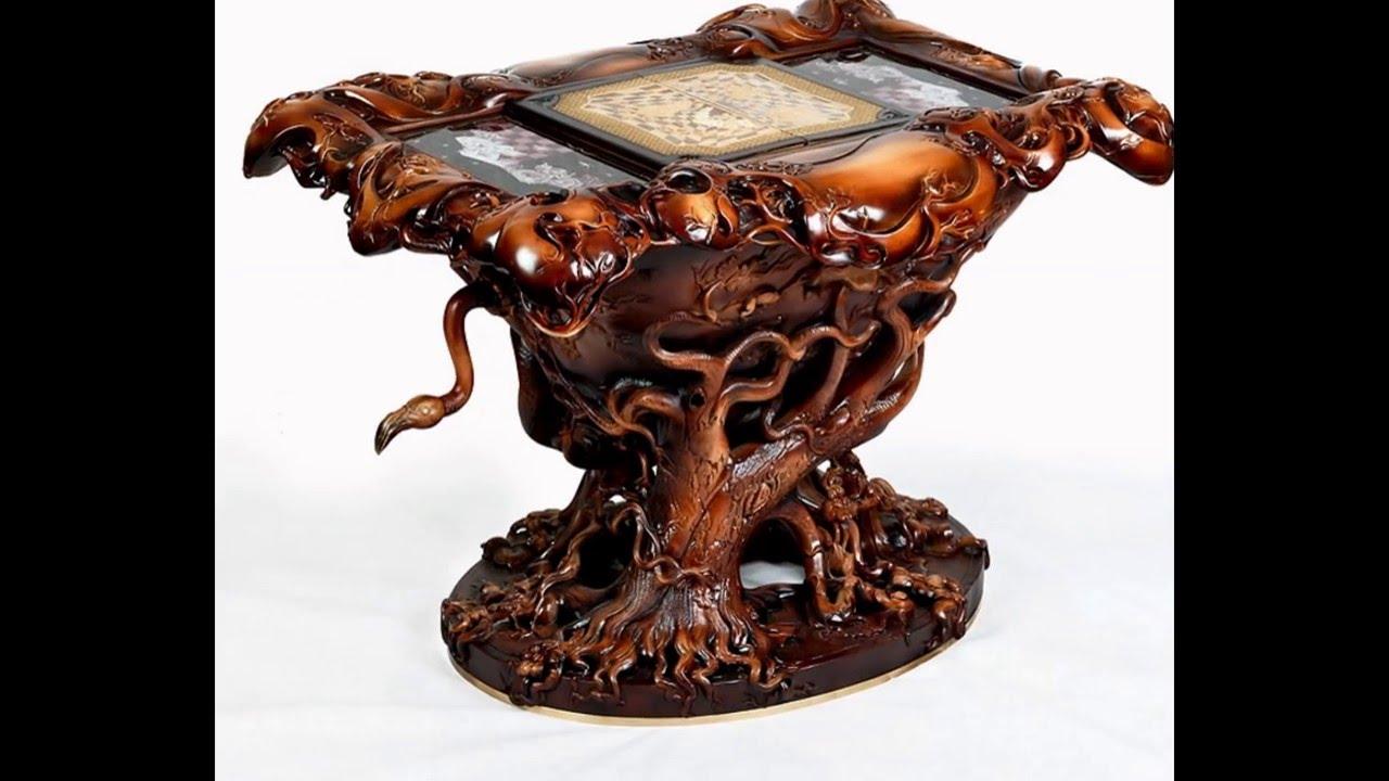 необычные столы из дерева интересные идеи своими руками