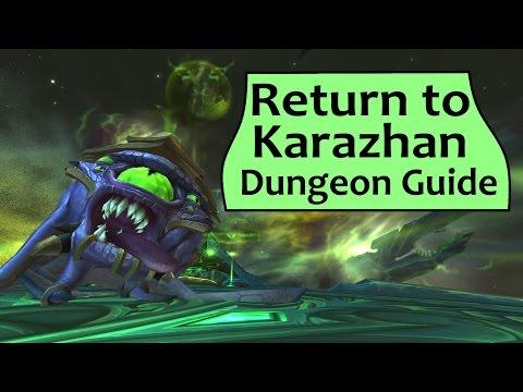 Return To Karazhan - Legion Mythic Dungeon Boss Guide