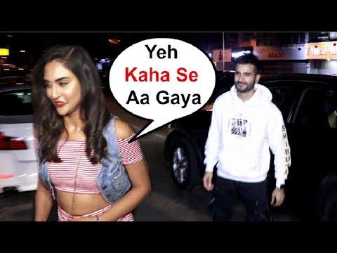 Krystle D'Souza Ignores Ex-Boyfriend Karan Tacker At Teri Yaad Song Launch