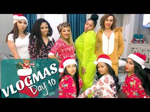 Christmas Onsie Party! #HolidayHenny | VLOGMAS 2017- Day 10