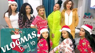 connectYoutube - Christmas Onsie Party! #HolidayHenny | VLOGMAS 2017- Day 10