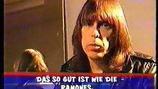 THE RAMONES - Bonn 26.1.96 - Johnny interview & live