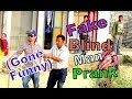 Nepali Prank - Blind man Experiment (Gone funny )