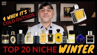 Top 20 Niche Fragrances For Winter | Scents For When It