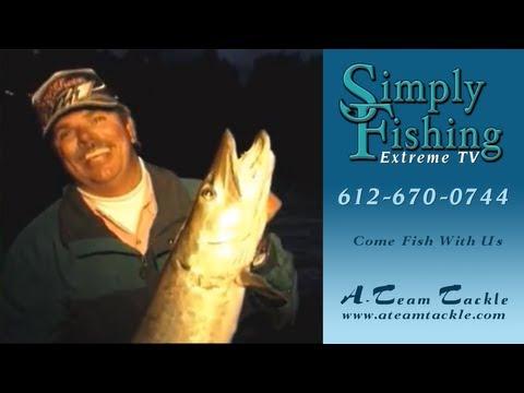 Simply Fishing #1206 Bob Mehsikomer & Sylvia James Hunt Muskies